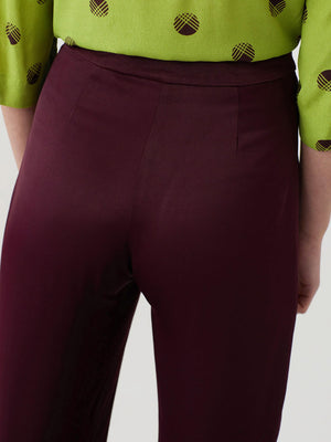 Nice Things Satin Capri Pants