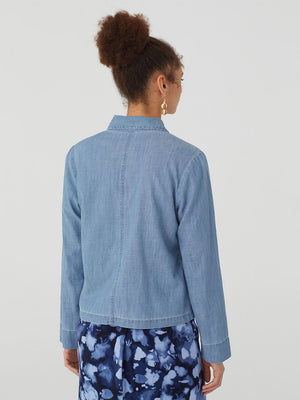 Nice Things Denim Pocket Jacket - 100% Cotton