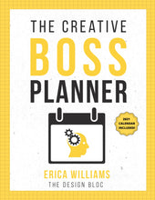 Load image into Gallery viewer, The Creative Boss Planner (Instant Download - Printable & Reusable)