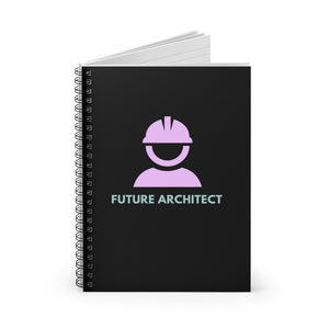 Future Architect | Spiral Notebook - Ruled Line