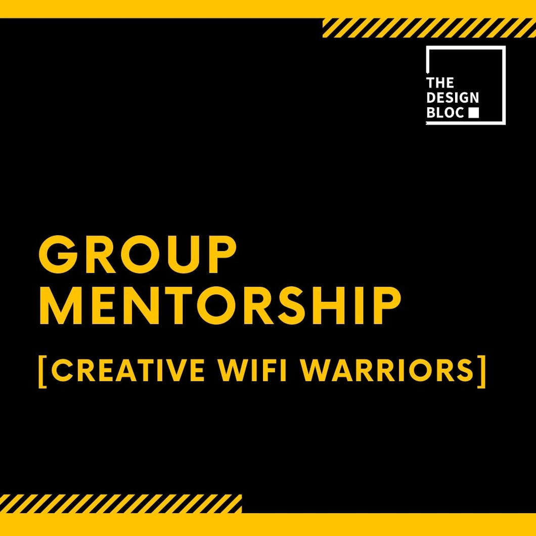Group Mentorship - The Creative Wifi Warriors