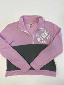 Pink By Victoria's Secret Sweatshirt Size Medium