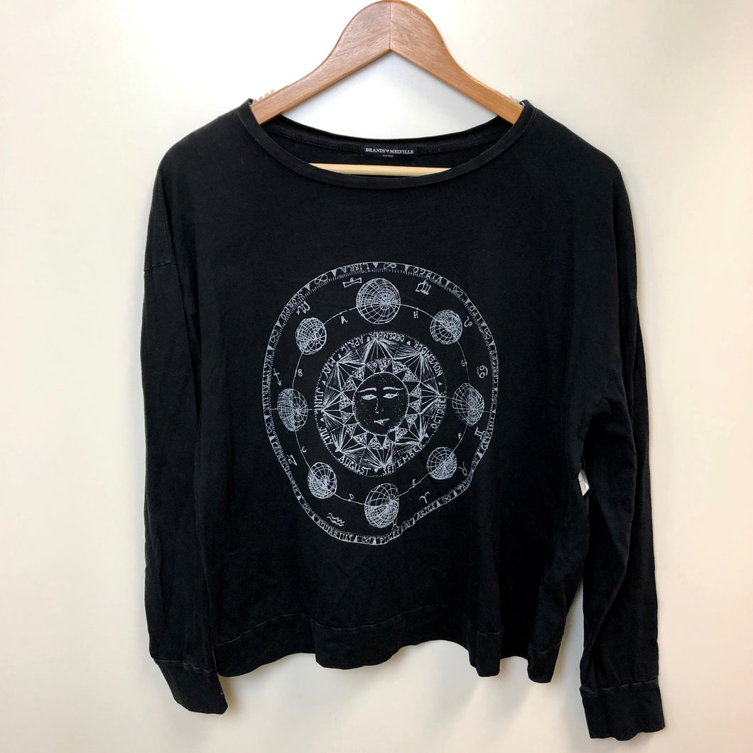 Brandy Melville Womens Long Sleeve T-Shirt Size Small