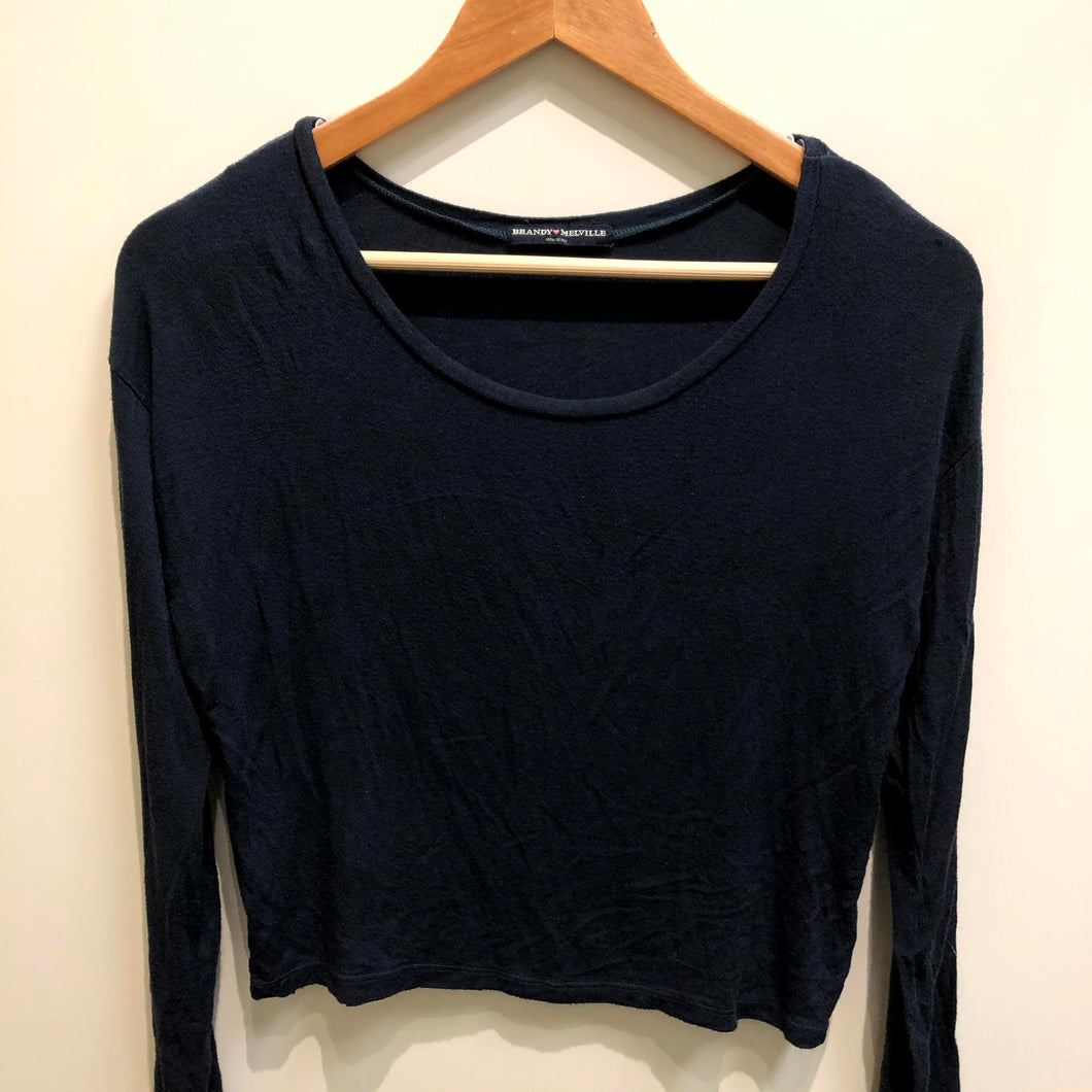 Brandy Melville Womens Long Sleeve Top Small-IMG_9458.jpg