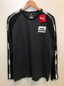 Puma Mens Long Sleeve T-shirt Size Large