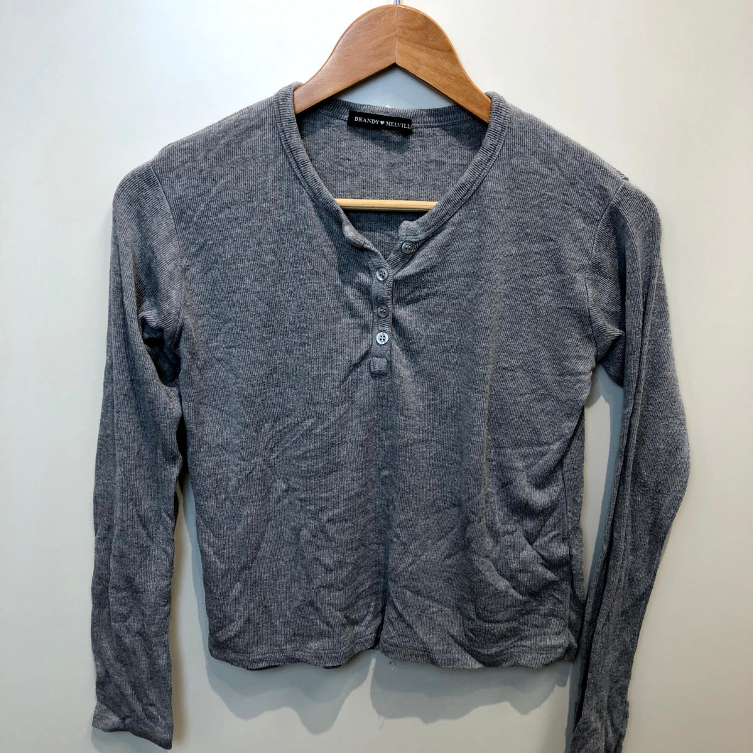 Brandy Melville Womens Long Sleeve Top Size Small