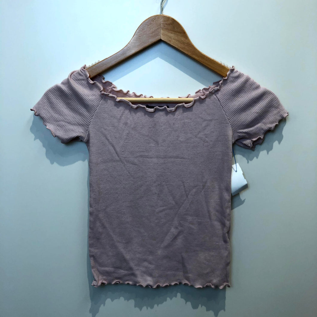 Brandy Melville Womens Short Sleeve Top Size Small