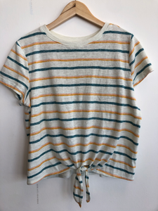 So Short Sleeve Top Size Large