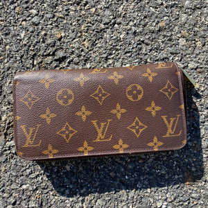 Monogram Louis Vuitton Zippy Wallet