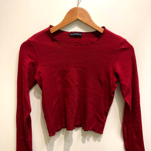 Brandy Melville Womens Long Sleeve T-Shirt Small-IMG_9438.jpg