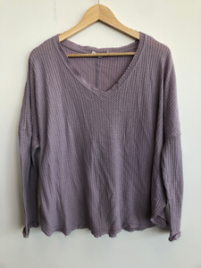 Out From Under Long Sleeve Top Size Small