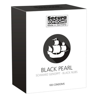 Black Pearl Condoms - The Lust Lab