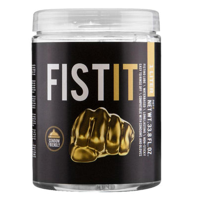 Fist It 1 Litre Jar Of Lubricant - The Lust Lab