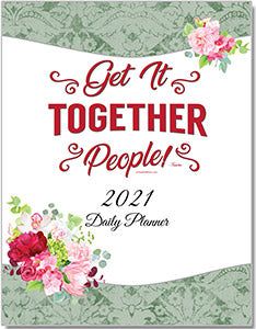 2021 Daily Planner - Downloadable eBook Version