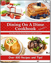 Dining On A Dime Cookbook, Volume 2