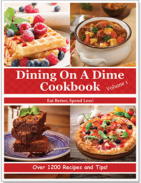 Dining on A Dime Cookbook Volume 1