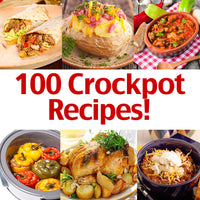 100 Crockpot Recipes eBook Bundle!