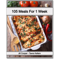 105 Meals For 1 Week Meal Plan