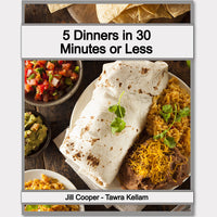 5 Dinners in 30 Minutes or Less Meal Plan