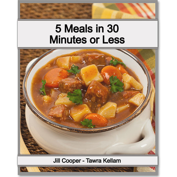 5 Meals In 30 Minutes Or Less Meal Plan