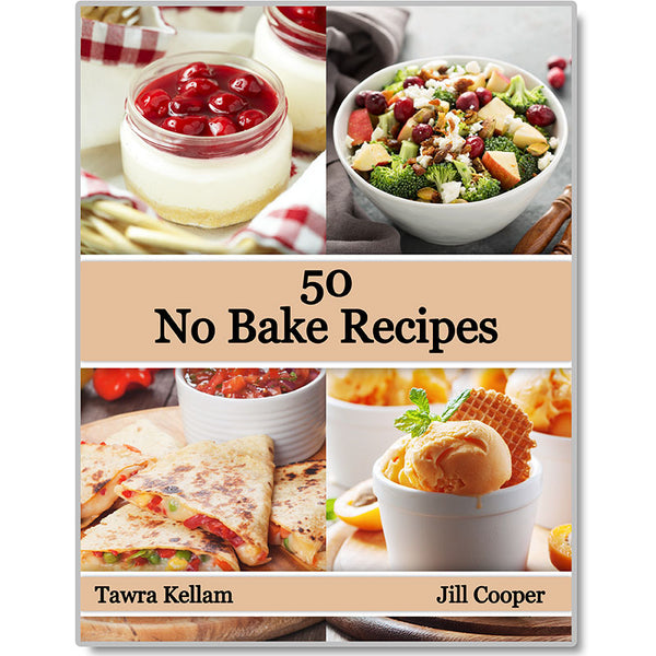 50 Easy No Bake Recipes **e-Book**!