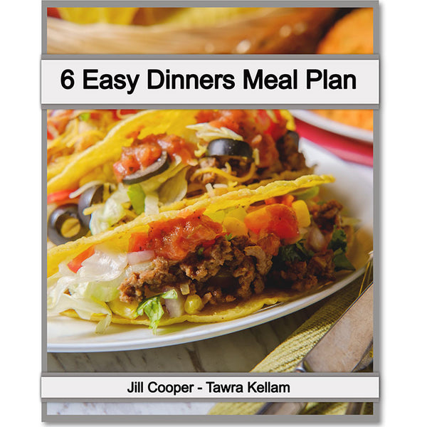 6 Easy Dinners Meal Plan