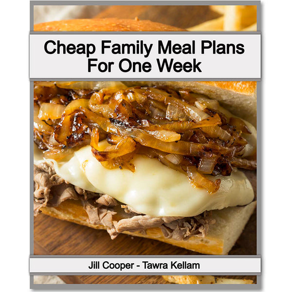 Cheap Family Meal Plans for 1 Week