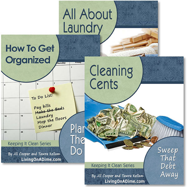 How To Organize And Clean Your Home E-book Set