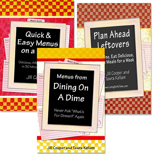 Menus On A Dime 3 e-Book Set