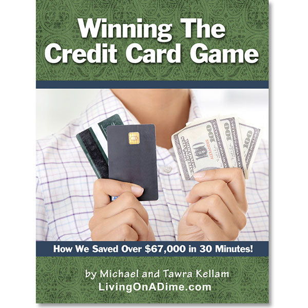 Winning The Credit Card Game E-book