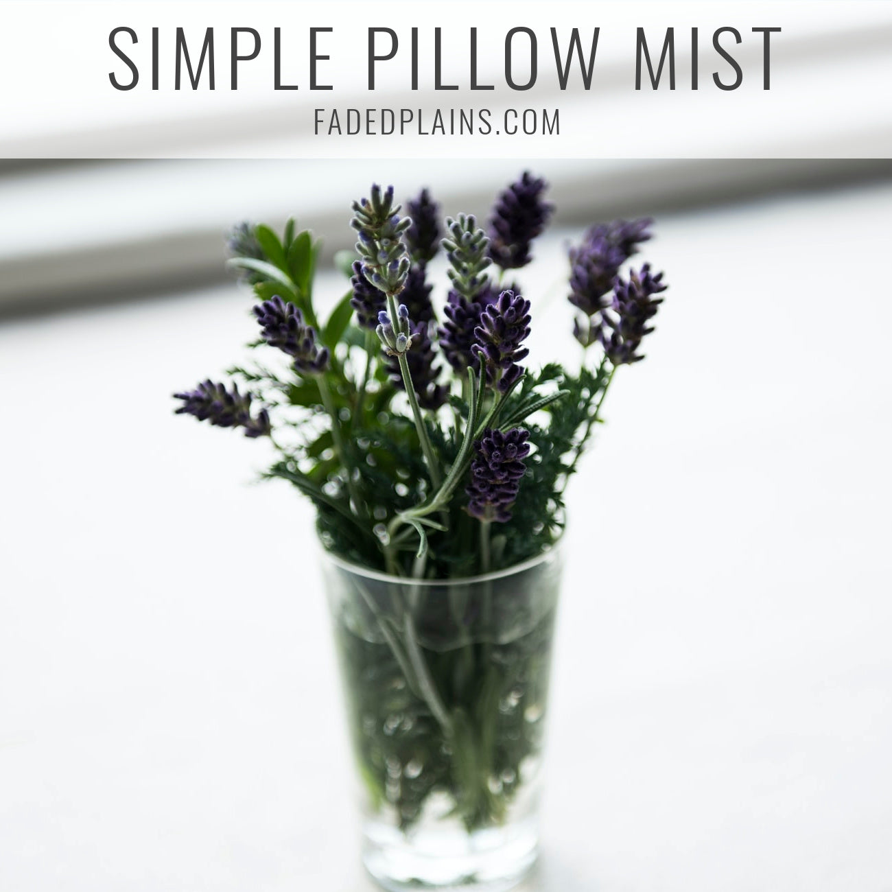 Simple Pillow Mist