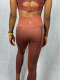 SEAMLESS LEGGINGS- LINEAR PINK