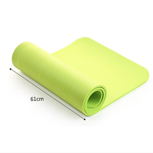 High Quality Non-Slip Fitness 4mm Yoga Gym Mat
