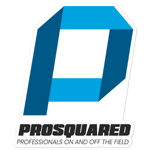 PROSQUARED P - Bubble-free sticker