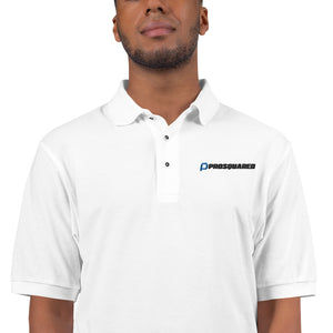 PROSQUARED - Men's Premium White Polo