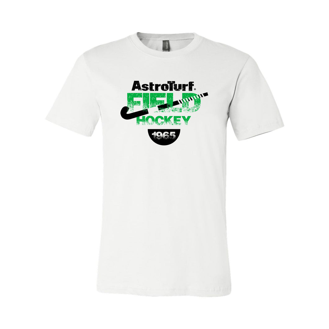 AstroTurf Field Hockey Unisex T-shirt - White - M-3XL