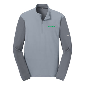 AstroTurf Nike Golf Dri Fit 1/4 Zip - Cool Grey / Dark Grey - M-3XL