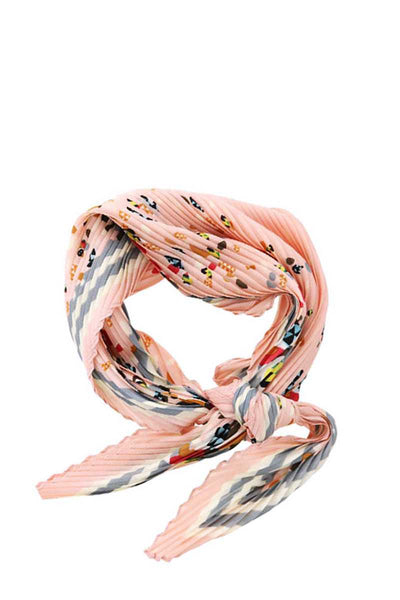 Stylish Fleeted Floral Print Bandanna