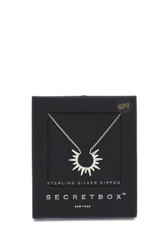 Secret Box Sun Charm Neclace