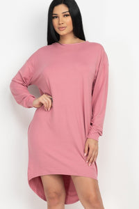 Cozy High Low Dress - Keep It Tees Shop