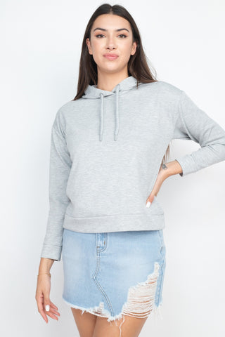 Self-tie Drawstrings Hoodie - Keep It Tees Shop