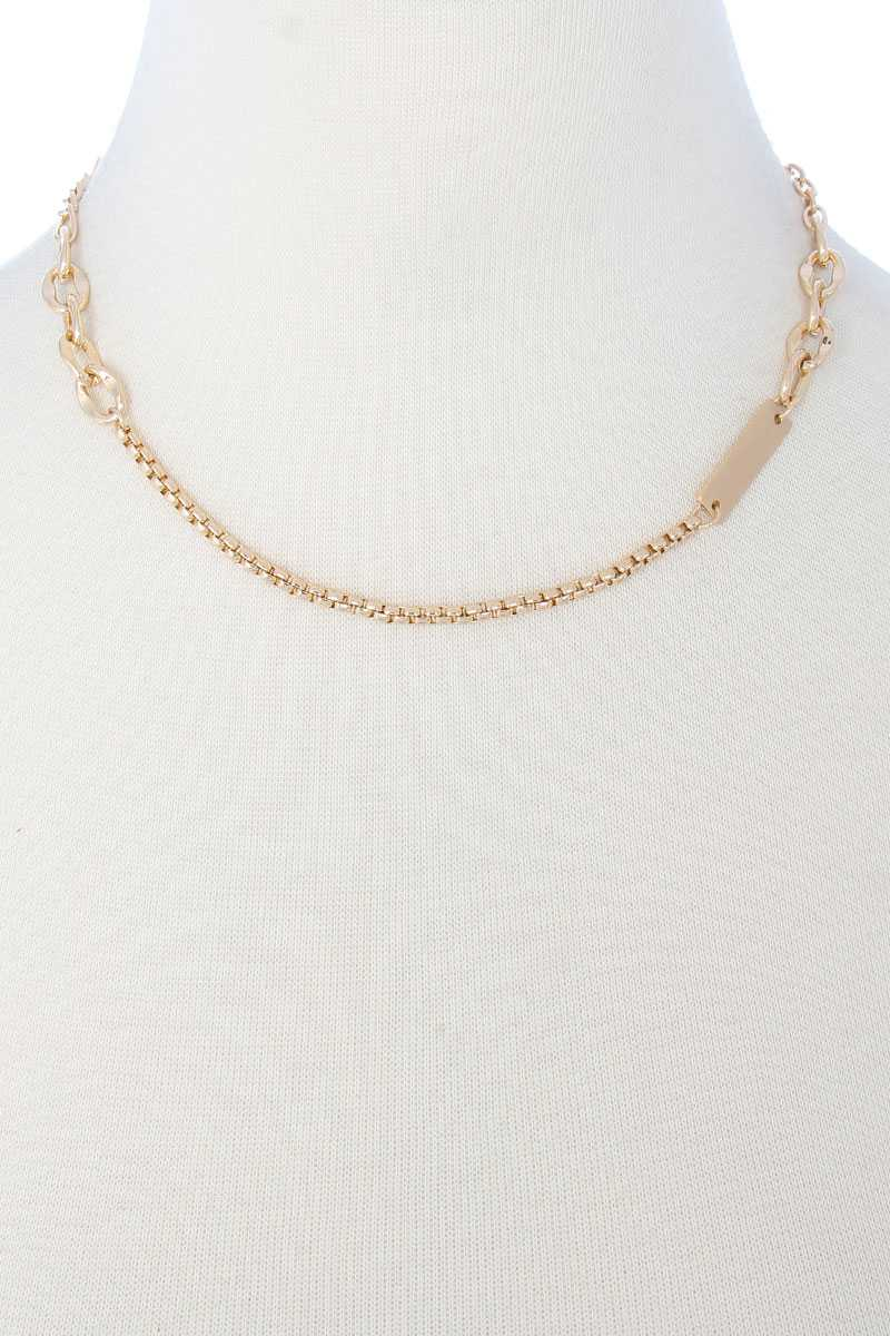 Metal Chain Necklace - Keep It Tees Shop