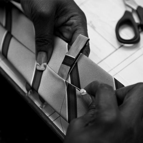bespoke mens tie - Hamilton and Hare | The Journal | Marwood