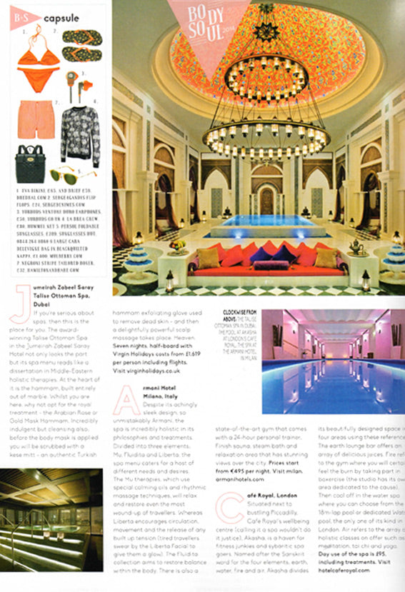 Hamilton and Hare featured in Conde Nast Traveller magazine