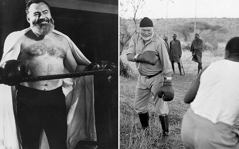 Icon of the month: Ernest Hemingway - Hamilton and Hare | The Journal