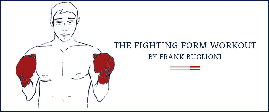 Fighting form workout by British Boxer Frank Buglioni | Hamilton and Hare - The Journal: The Fitness Issue