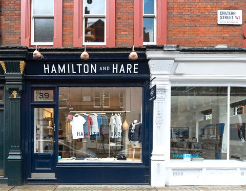 Hamilton and Hare Flagship - 39 Chiltern Street