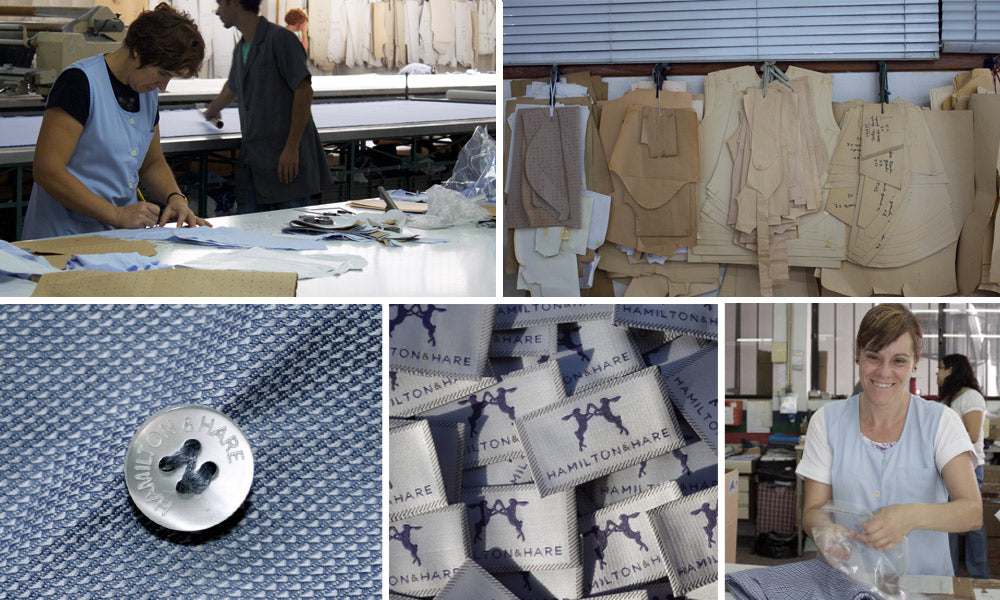 Behind the scenes at Hamilton and Hare's factory in Portugal