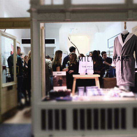 Highlights from our launch party at our new store in The Royal Exchange.