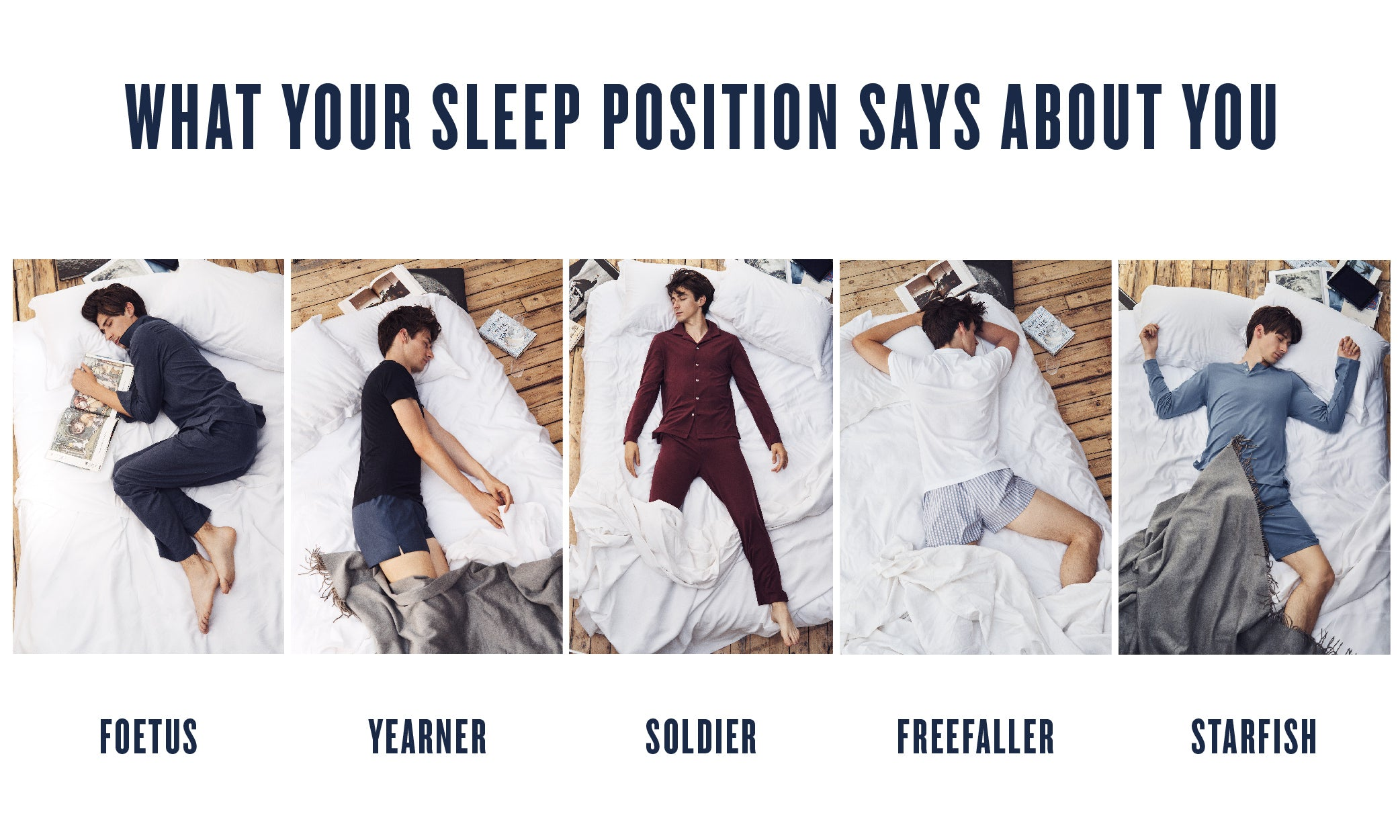 What Your Sleep Position Says About You Hamilton And Hare Ltd